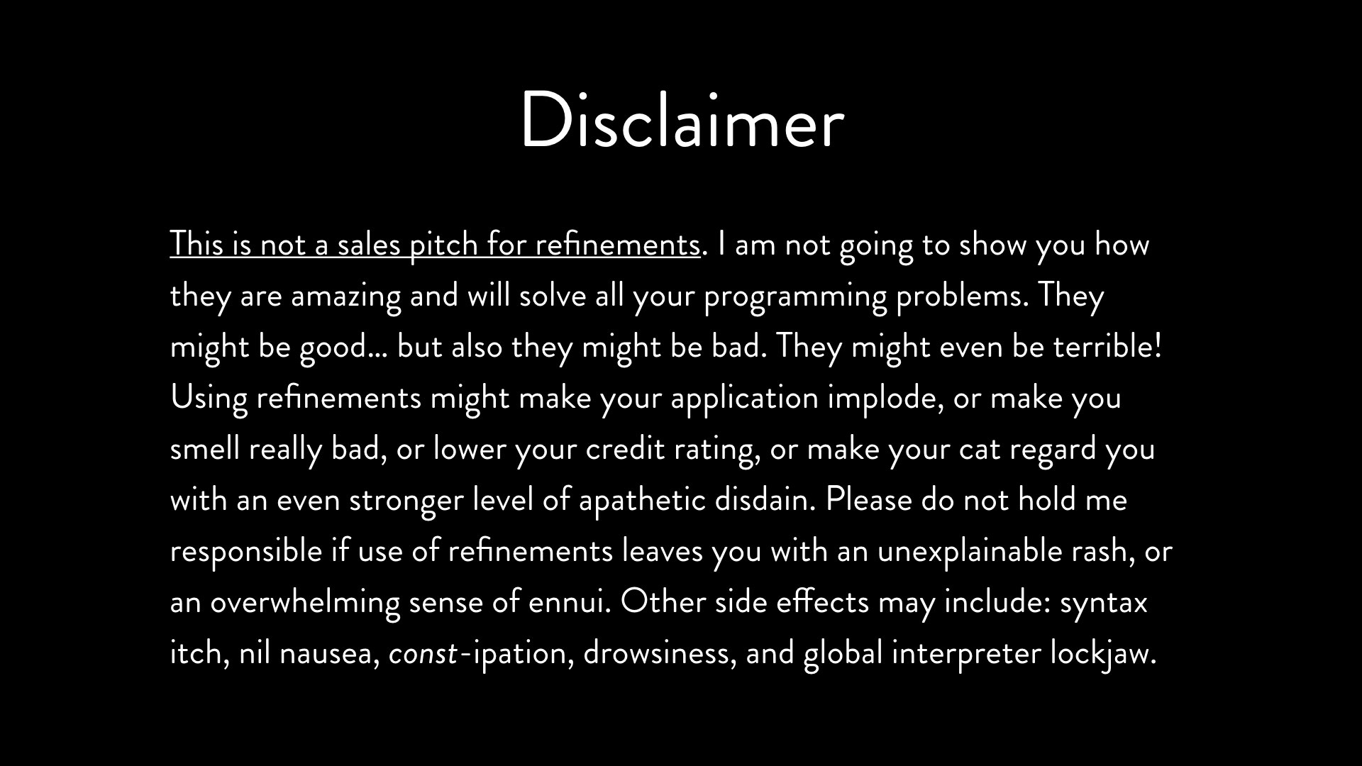 Copyright how to write a disclaimer